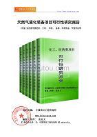 天然气液化装备项目可行性研究报告(申请报告)