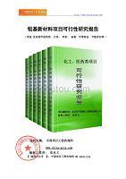 铝基新材料项目可行性研究报告(申请报告)