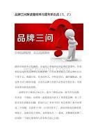 品牌三問解讀董明珠與雷布斯舌戰(1、2)