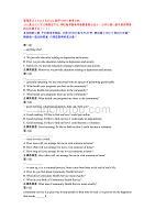 管理英语3-Unit 6 Self-test-国开04019-参考资料