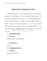 新型聚丙烯给电子体投资建设项目立项报告(规划申请).docx