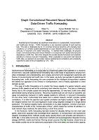Graph Convolutional Recurrent Neural Network Data-Driven Traffic Forecasting