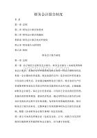 黑龙江某咨询公司财务会计报告制度