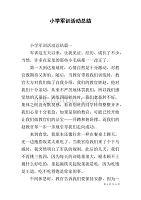 小学军训活动总结.doc二小学第临桂图片