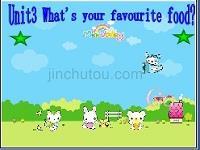 PEP小学英语五年级上册第三单元What's your favourite food