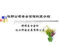 杜邦公司安全管理制度介绍.ppt(东方金河)