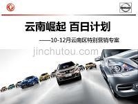 2014云南东风日产汽车品牌推广提案