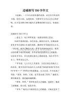 边城续写700字作文.doc