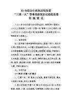 """XX市综合行政执法局党委""""三重一大""""等事项报派驻纪检组监督实施意见"""
