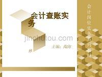 【精品PPT】会计查账实务(2)