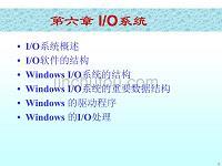windows操作系统-io系统 精品