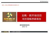 龙腾·新天地项目项目策略思路报告28p