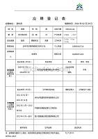 徐祖波应聘登记表(资料员)