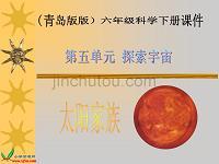 (青岛版)六年级科学下册课件太阳家族1