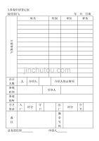 3.参观申请登记表