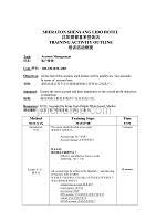 上海五星瑞吉红塔酒店培训教材—TAO-OH-SM-RM-A002AccountManagement