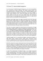 英国essay写作--Beyond budget management
