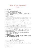 人教版新目標九年級英語上冊教案全集