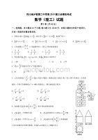 四川省泸县第二中学2019届高三三诊模拟数学(理)试题(含答案)